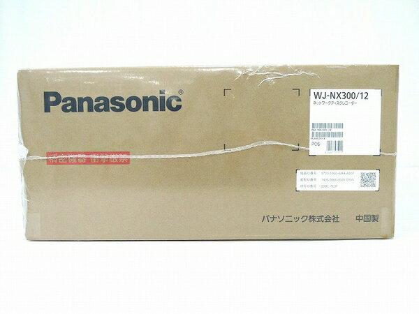 未使用 【中古】 Panasonic WJ-NX300/12 ネットワークディスクレコーダー パナソニック 防犯 監視 監視映像 レコーダー 法人向け O3750772