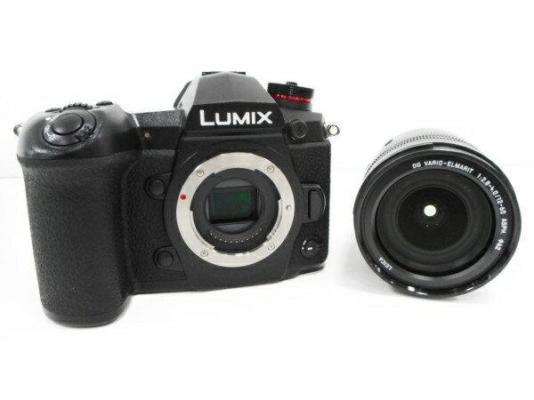 【中古】良好 Panasonic LUMIXG DC-G9 L PRO 4K LEICA DG カメラ ボディ レンズ キット ハイエンド ミラーレス 一眼 H3699363