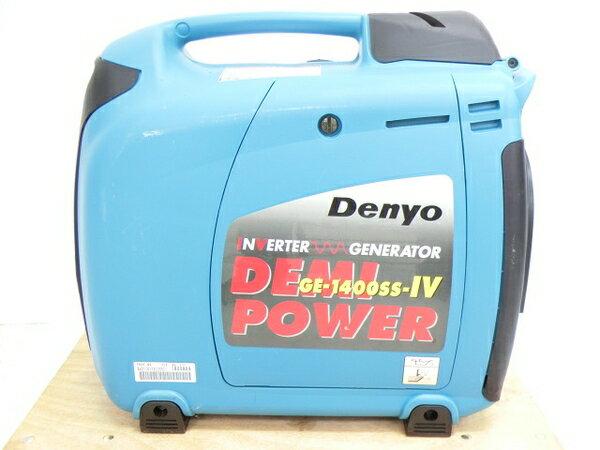 美品 【中古】 実使用なし Denyo GE-1400SS-IV インバーター 発電機 小型 K2864568