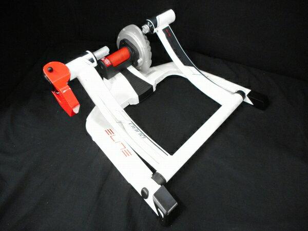 【中古】 ELITE (エリート) トレーニングバイク Qubo Power Fruid 自転車 ツーリング 趣味 W3273140