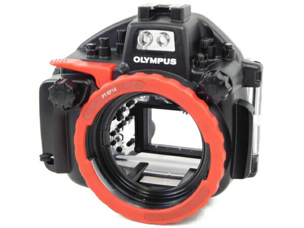 【中古】 OLYMPUS 防水プロテクター PT-EP14 カメラ周辺機器 カメラアクセサリ 水中撮影 N3499278