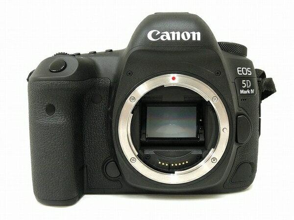 【中古】 中古 Canon EOS 5D MarkIV マーク4 デジタル 一眼レフ カメラ ボディ 本体 バッテリー2個 セット O3171962