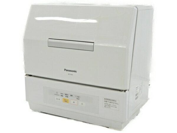 【中古】 中古 Panasonic パナソニック プチ食洗 NP-TCR3-W 食器洗い乾燥機 2016年製【大型】 S3543143
