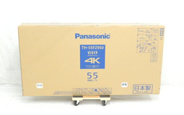 未使用 【中古】 未開封 Panasonic パナソニック VIERA TH-55FZ950 テレビ 55型 4K 有機EL TV 映像機器 生活家電 【 2018年発売モデル!! 】【大型】 Y3672556