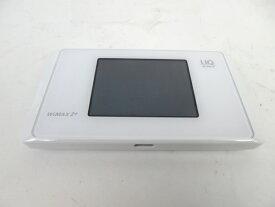未使用 【中古】 UQ WiMAX 2+ Speed Wi-Fi NEXT WX05 NAD35MWU ホワイト M3768581