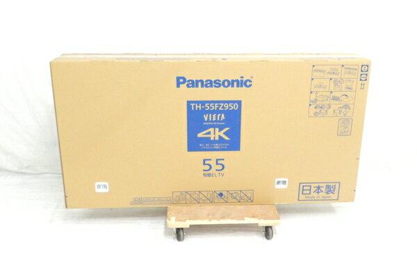 未使用 【中古】未開封 Panasonic パナソニック VIERA TH-55FZ950 テレビ 55型 4K 有機EL TV 映像機器 生活家電 【 2018年発売モデル!! 】【大型】 Y3672555