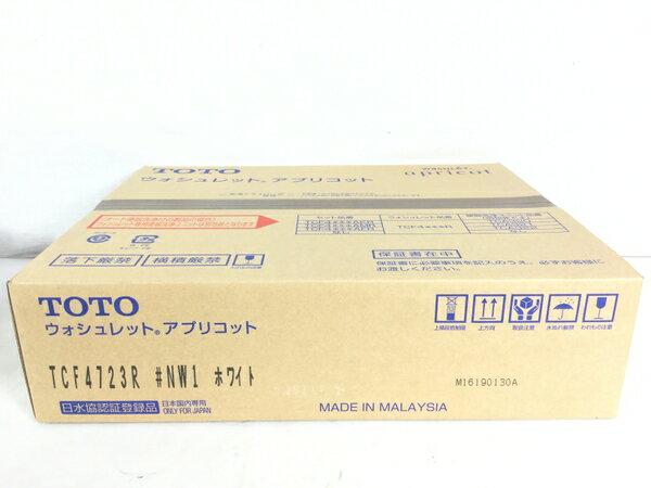未使用 【中古】 TOTO TCF4723R #NW1 ホワイト ウォシュレット アプリコット S3853292