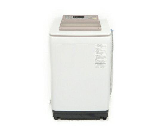 【中古】 Panasonic パナソニック NA-FA80H2 洗濯機 2015年製 家電 ピンク 【大型】 K3627207