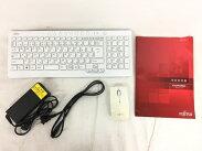 【中古】FUJITSU富士通ESPRIMOFH52/SFMVF52SWG液晶一体型デスクトップパソコンPC21.5型Celeron1005M1.9GHz4GBHDD1TBWin8.164bitスノーホワイトT3190137