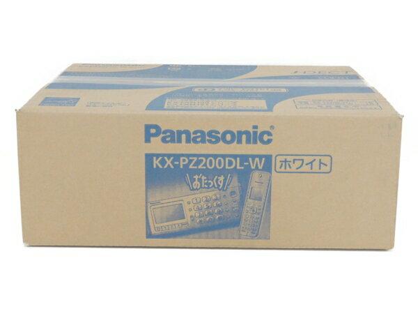 未使用 【中古】 Panasonic パナソニック KX-PZ200DL おたっくす FAX ファックス 電話機 F3400412