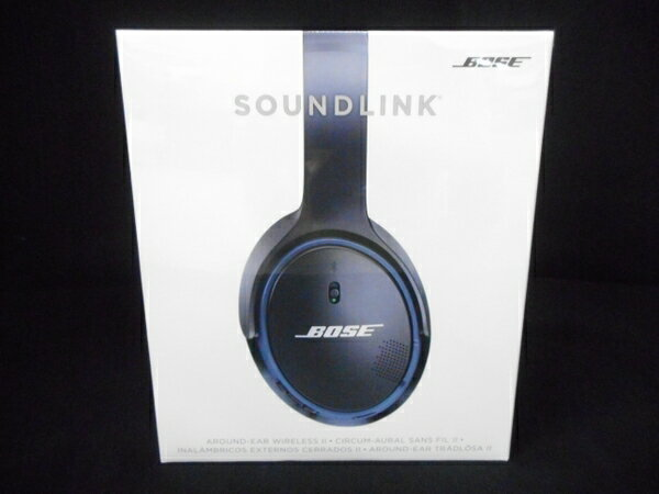 未使用 【中古】 BOSE Soundlink around-ear wireless headphones II AEII ワイヤレス ヘッドホン ボーズ オーディオ W3462574