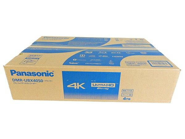 未使用 【中古】 未開封 Panasonic パナソニック DMR-UBX4050 BD ブルーレイ ディスク レコーダー 4TB 4K 録画 映像 機器 Y3608657