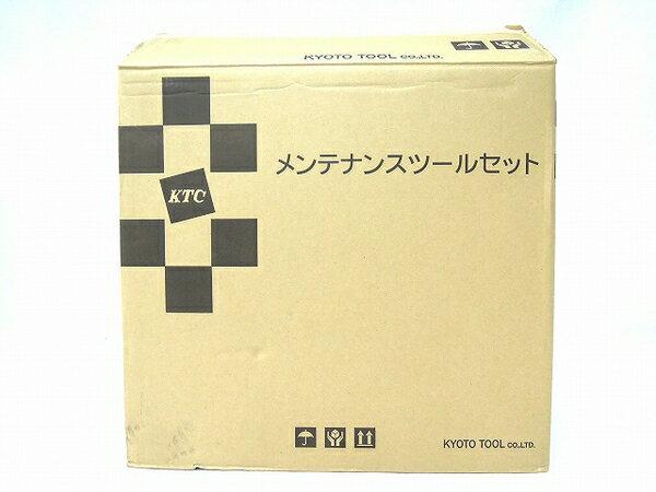 未使用 【中古】 未使用 KTC 工具セット SK35617WR レッド ツールボックス メタルケース 両開き O2769593