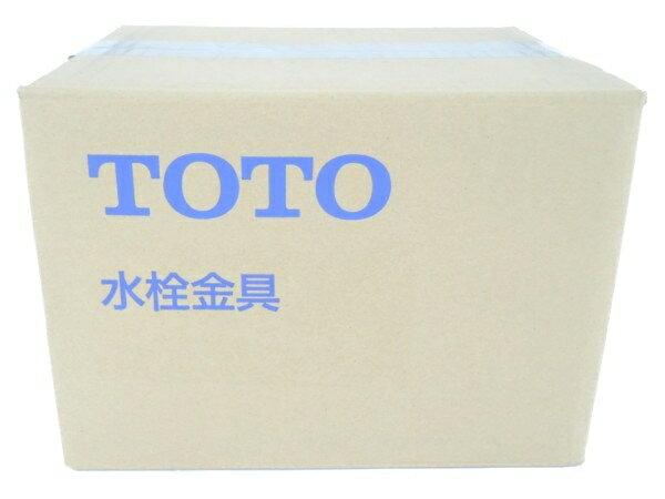 未使用 【中古】 TOTO TLHG30EG 台付シングル13 混合栓 洗面台用 Y3165707