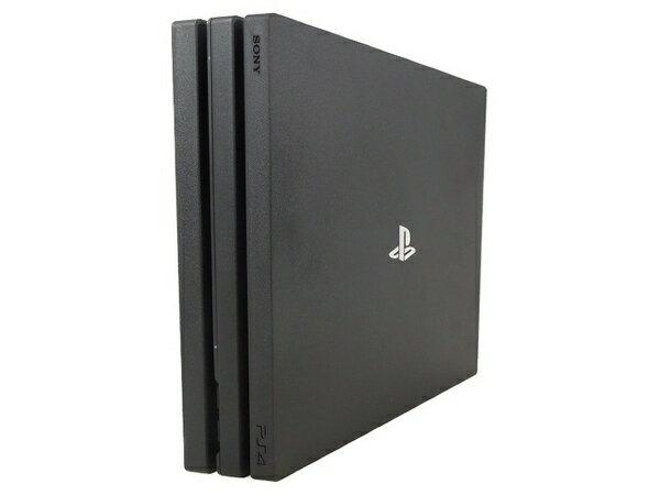 【中古】 中古 SONY ソニー PlayStation4 PS4 Pro CUH-7100BB01 1TB ジェット ブラック プレイステーション4 ゲーム 家電 S3214212