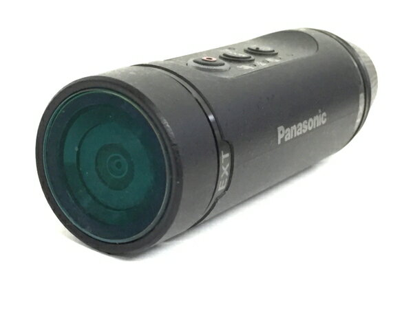 【中古】 Panasonic パナソニック HX-A1H-K ウェアラブルカメラ ブラック T3757334