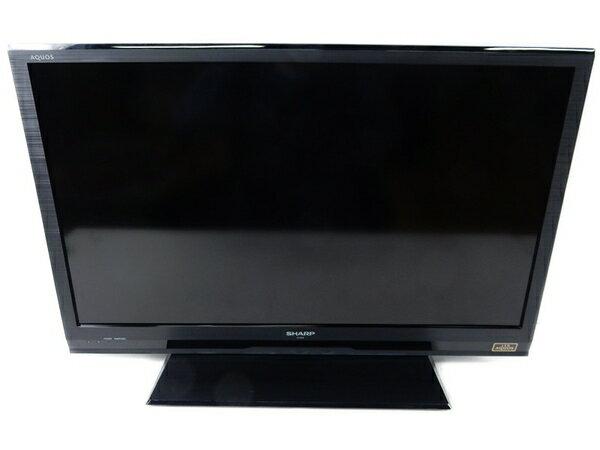 【中古】 SHARP シャープ AQUOS LC-32H9 液晶テレビ LED 32型 LED ブラック【大型】 S2764921
