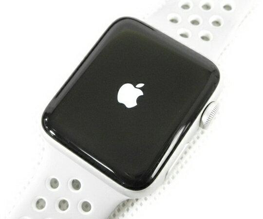 【中古】良好 Apple Watch シリーズ2 Nike+ 42mm GPS WR-50M 白 N2756893