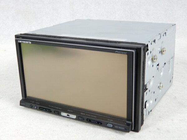 【中古】 Pioneer パイオニア carrozzeria 楽ナビ AVIC-HRZ099 HDDナビ 7型 K3328162