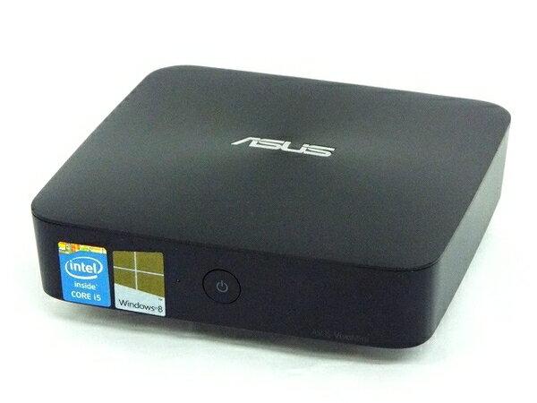 【中古】 ASUS エイスース VivoMini UN62 デスクトップ パソコン PC i5 4210U 1.7GHz 4GB SSD128GB Win8.1 64bit T2926981