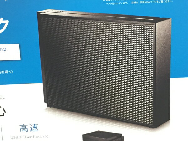 未使用 【中古】 I-O DATA PC TV用 外付ハードディスク HDCZ-UT2KB 2TB ブラック T3609974
