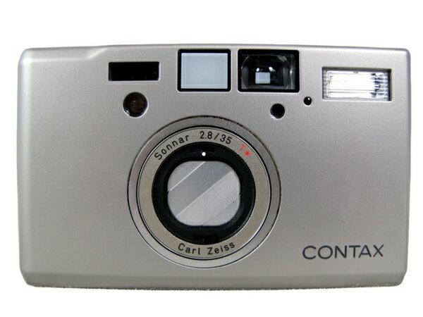 【中古】 良好 CONTAX コンタックス T3 Carl Zeiss カールツァイス Sonnar 35mm F2.8 T* コンパクト フィルム カメラ S3702481