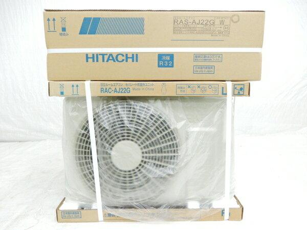 未使用 【中古】 HITACHI 日立 白くまくん RAS-AJ22G RAC-AJ22G 5~9畳 ルーム エアコン 家電 17年製 楽直 【大型】 Y3173097
