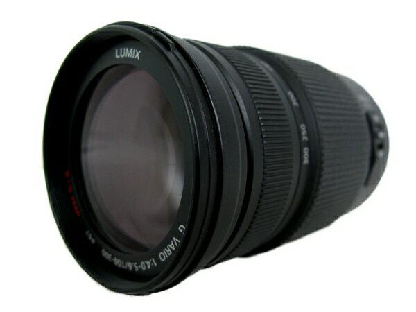 【中古】 Panasonic パナソニック LUMIX ルミックス G VARIO 100-300mm/F4.0-5.6/MEGA O.I.S H-FS100300 カメラ レンズ ズーム 超望遠 S3701805