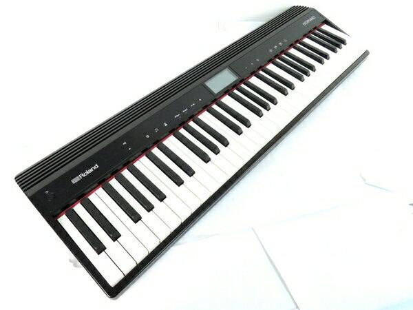 【中古】 Roland ローランド GO PIANO GO-61P 電子 ピアノ 楽器 61鍵 鍵盤 楽器 Y2722490