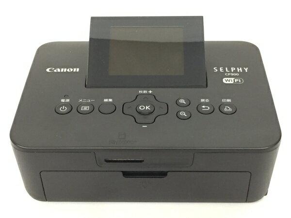 美品 【中古】 Canon SELPHY CP900 コンパクト フォト プリンター セルフィー ブラック T3550220