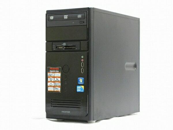 【中古】 FRONTIER FRM909/23A Core i7 870 8GB 1.5TB SATA T2585602