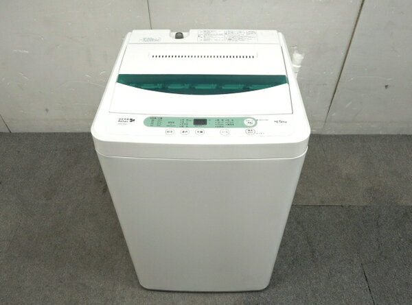 【中古】 中古 YAMADA ヤマダ YWM-T45A1 洗濯機 4.5kg 2017年製 家電【大型】 O3253385