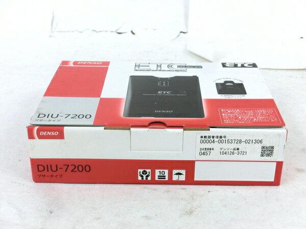 未使用 【中古】 DENSO DIU-7200 ETC 車載器 4輪用 カー用品 M3866655