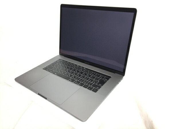 【中古】 良好 Apple MacBook Pro MLH32J/A CTOモデル ノートPC TouchBar搭載 15.4型 i7 6700HQ 2.6GHz 16GB SSD512GB High Sierra 10.13 Radeon Pro 450 スペースグレイ T3126849