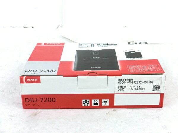未使用 【中古】 DENSO DIU-7200 ETC 車載器 4輪用 カー用品 M3866660