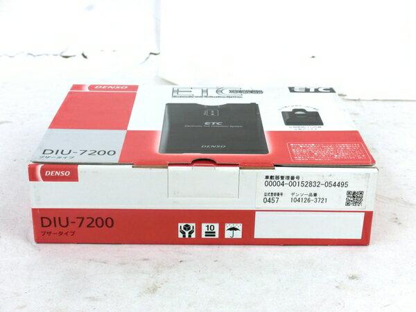 未使用 【中古】 DENSO DIU-7200 ETC 車載器 4輪用 カー用品 M3866644