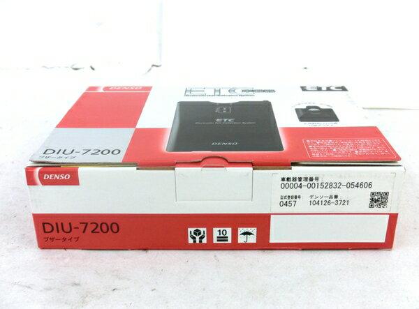未使用 【中古】 DENSO DIU-7200 ETC 車載器 4輪用 カー用品 M3866658