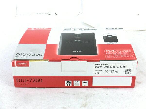 未使用 【中古】 DENSO DIU-7200 ETC 車載器 4輪用 カー用品 M3866653