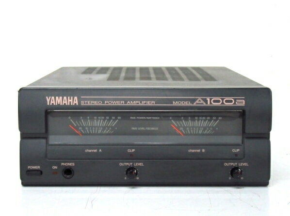 【中古】 YAMAHA ヤマハ ステレオパワーアンプ STEREO ステレオ MODEL A100a アナログ 名機 F3224546