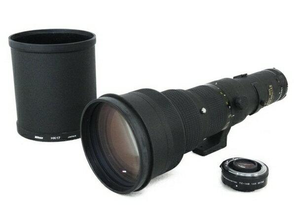【中古】 Nikon ED NIKKOR 500mm F4 P 望遠レンズ ケース付き N3489411