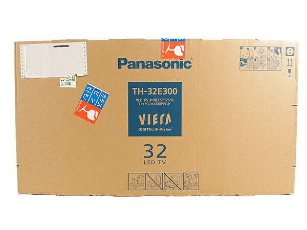 新品 【中古】Panasonic パナソニック TH-32E300 デジタルハイビジョン 液晶TV 液晶テレビ 32型 LED S3169635