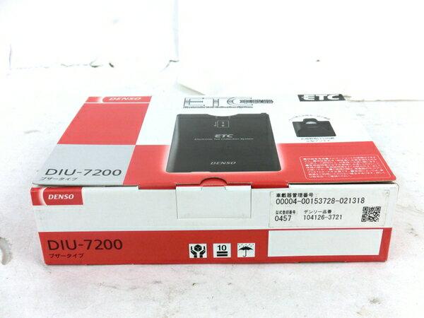 未使用 【中古】 DENSO DIU-7200 ETC 車載器 4輪用 カー用品 M3866654