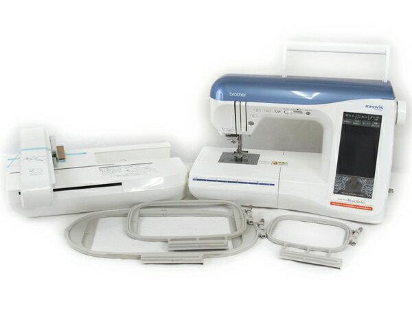 【中古】 brother Innovis ブラザー DC3500 EMS8004 ディズニー ミシン 刺繍機付 N2707711