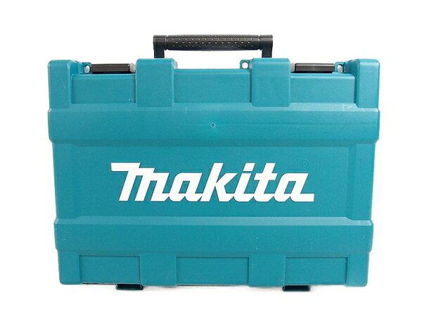 未使用 【中古】makita マキタ HR171DRGX 青 17mm 充電式ハンマドリル バッテリー2個 充電器付き 電動工具 S3160676