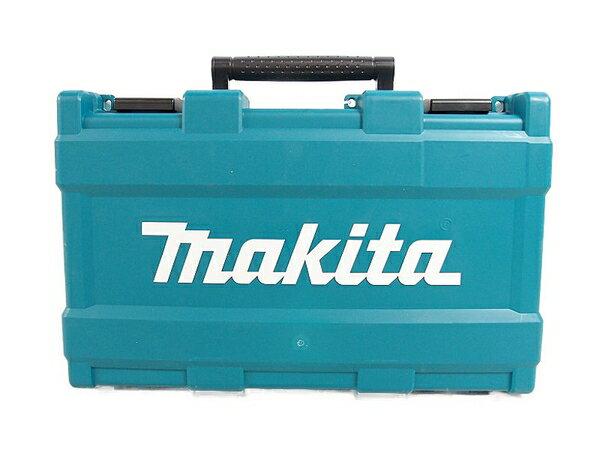 未使用 【中古】 makita マキタ HR166DSMX 青 16mm 充電式ハンマドリル 4.0Ah バッテリー2個 充電器付き 電動工具 S3160677