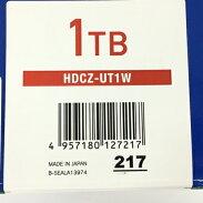 【中古】【送料無料】IODATAHDCZ-UT1WHDCZ-UTシリーズ外付ハードディスク1TBホワイト良好Y5771521