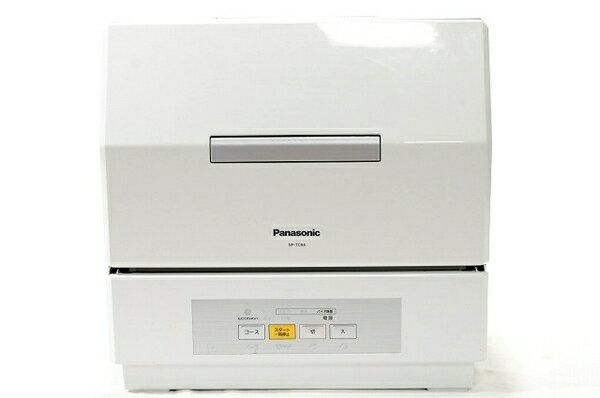 【中古】 Panasonic NP-TCR4-W プチ食洗 家庭要 食器洗い乾燥機 パナソニック 楽 【大型】 T3411373