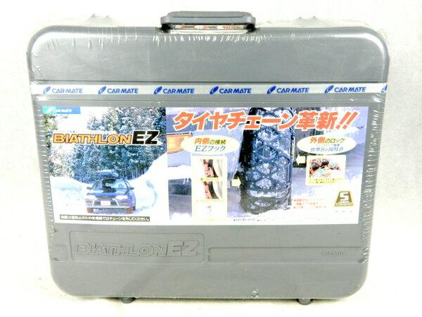 未使用 【中古】CAR-MATE BIATHLONEZ バイアスロンEZ E655 タイヤチェーン K3695866