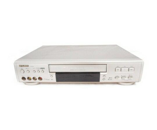 【中古】 MITSUBISHI HV-BS300 ビデオデッキ 2002年製 中古 W3485598