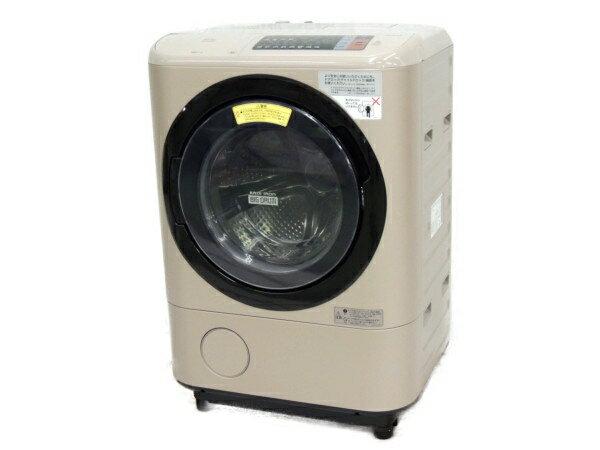 【中古】 日立 BD-NX120AL ヒートサイクル ビックドラム ドラム式 洗濯 乾燥機 左開き 12kg 家電 楽直 【大型】 Y3388066